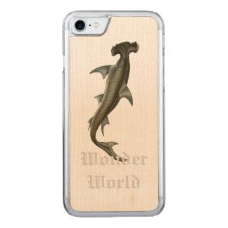 """""""Wonder World"""" - Hammer Head Carved iPhone 7 Case"""