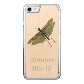 """""""Wonder World"""" - Locust Carved iPhone 7 Case"""