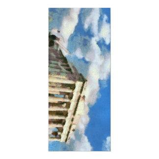 Wonderful Acropolis in Athens 10 Cm X 24 Cm Invitation Card