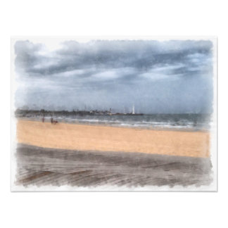 Wonderful beach art photo