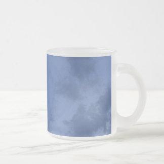 Wonderful blue evening sky coffee mugs