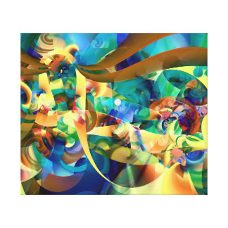 Wonderful  Carnaval Canvas Print