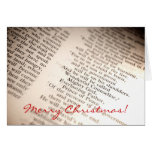 Wonderful Counsellor, Mighty God [Christmas Card]
