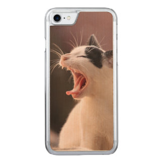 Wonderful Dangerous Cat Carved iPhone 8/7 Case