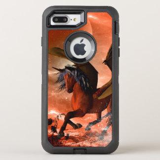 Wonderful dark unicorn OtterBox defender iPhone 8 plus/7 plus case