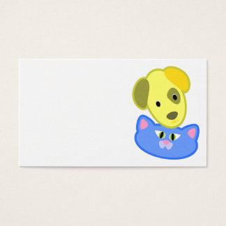 Wonderful Dog and Cat Business Card
