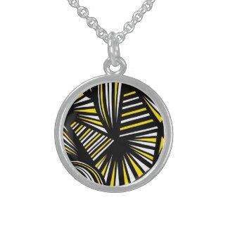 Wonderful Dynamic Calm Stirring Round Pendant Necklace