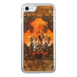 Wonderful fairy carved iPhone 7 case