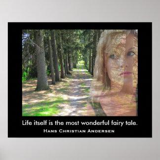 Wonderful fairy tale - art print