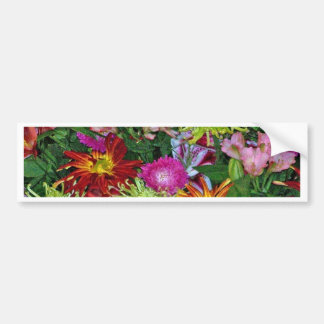 wonderful flowers bumper stickers