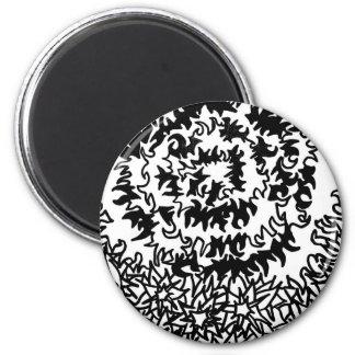 Wonderful goods 6 cm round magnet