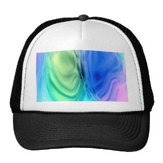 wonderful gradients 04 Swirl Mesh Hat
