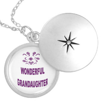 Wonderful Grandaughter Locket Necklace
