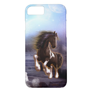 Wonderful horse with moon iPhone 7 case
