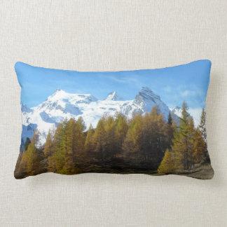Wonderful italian mountains lumbar cushion