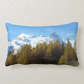 Wonderful italian mountains lumbar pillow