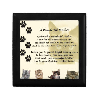 Wonderful Mother - Cats Gift Box