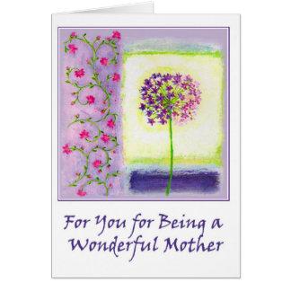 Wonderful Mother Greeting Card