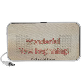 Wonderful New beginning Portable Speakers