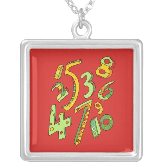 Wonderful One to Ten Numbers Necklace