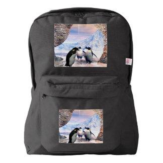 Wonderful penguin backpack