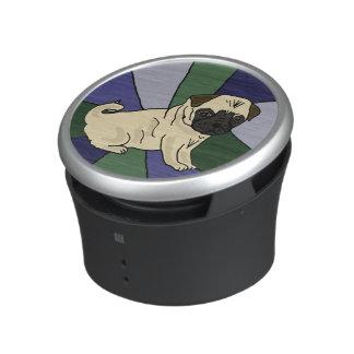 Wonderful Pug Dog Bluetooth Speaker