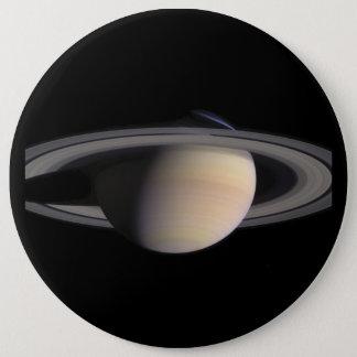 Wonderful Saturn Picture from NASA 6 Cm Round Badge