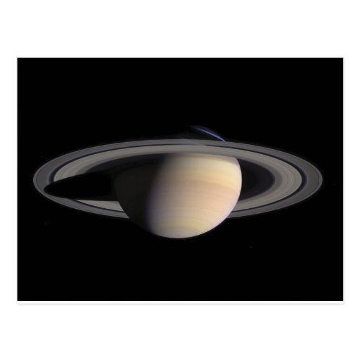 Wonderful Saturn Picture from NASA Post Cards