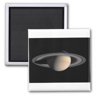 Wonderful Saturn Picture from NASA Square Magnet