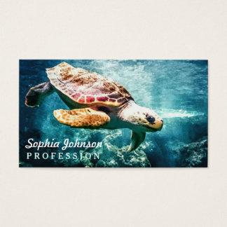Wonderful  Sea Turtle Ocean Life Turquoise Sea