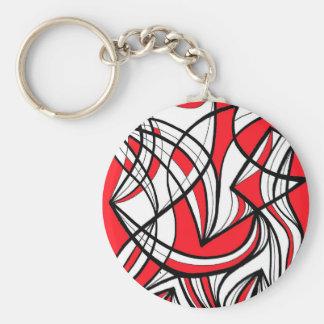 Wonderful Shy Fabulous Kind Basic Round Button Key Ring