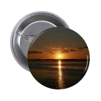 Wonderful Sunset 6 Cm Round Badge