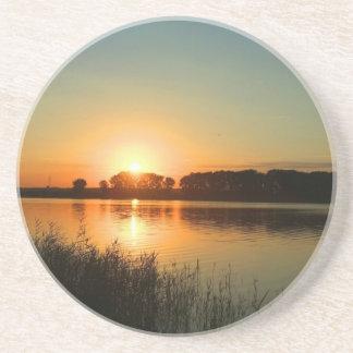 Wonderful Sunset Coaster