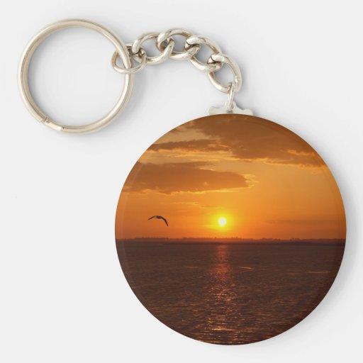 Wonderful Sunset Keychains