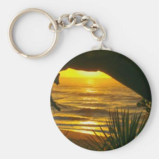 Wonderful Sunset Key Chain
