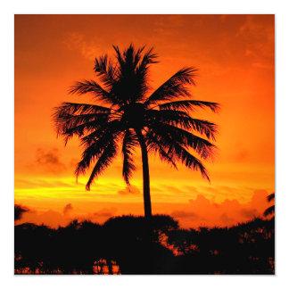 Wonderful Sunset Magnetic Invitations