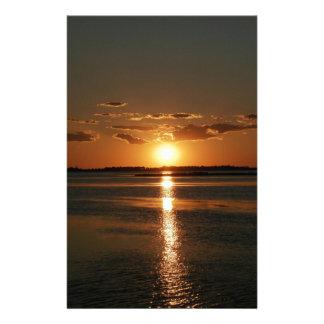 Wonderful Sunset Stationery