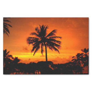 Wonderful Sunset Tissue Paper