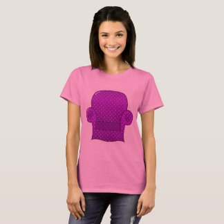 WONDERFUL T-SHIRT WITH PINK SOFA LUXURY