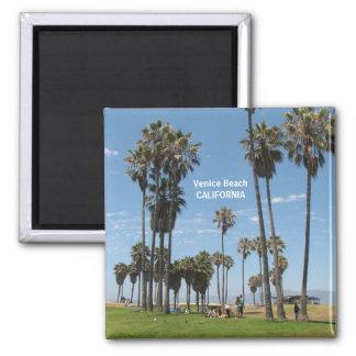 Wonderful Venice Beach Magnet! Square Magnet