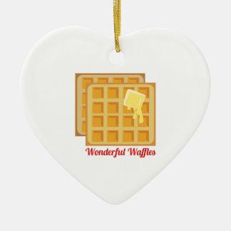 Wonderful Waffles Christmas Ornament