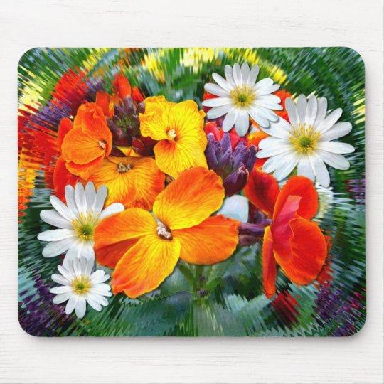 WONDERFUL WALL FLOWERS ~ Mousepad