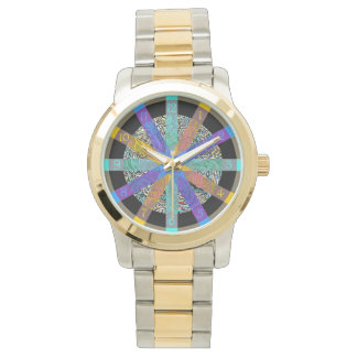 Wonderful watch with modern geometric design