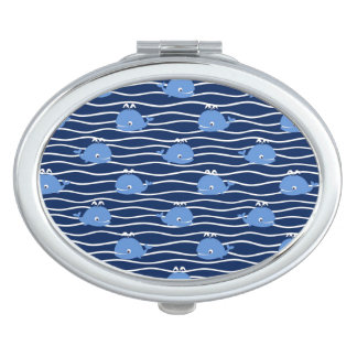 Wonderful Whales Mirror For Makeup