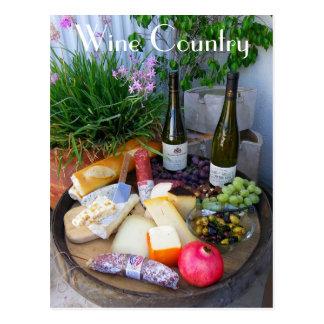 Wonderful Wine Country Postcard! Postcard