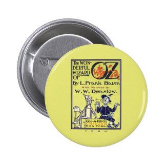 Wonderful Wizard of Oz 6 Cm Round Badge