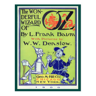 Wonderful Wizard of Oz Postcard