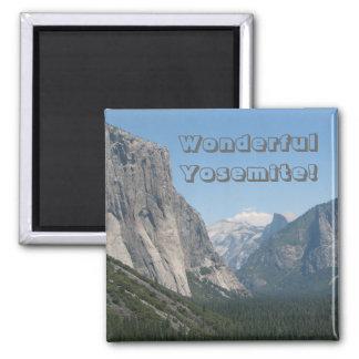 Wonderful Yosemite Magnet! Square Magnet