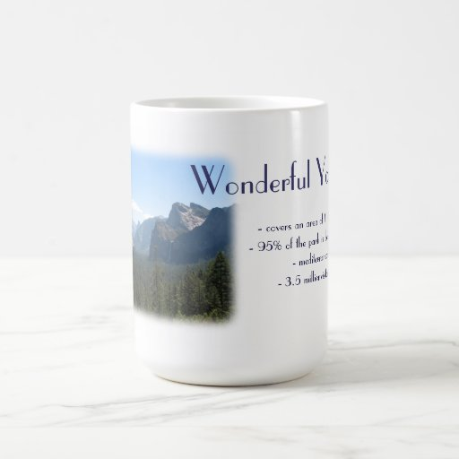 Wonderful Yosemite Mug! Basic White Mug
