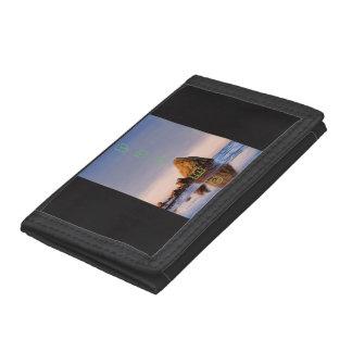 wonderfull rock trifold wallet